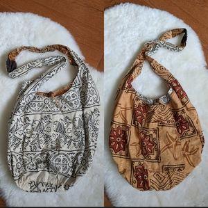 Handbags - 3/$40 Reversible boho printed bag